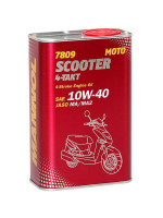МАСЛО МОТОРНОЕ 7809 4-TAKT SCOOTER 10W-40 1л.
