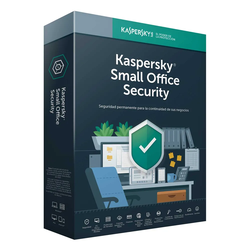Kaspersky Small Office Security for Desktops and Mobiles Edition