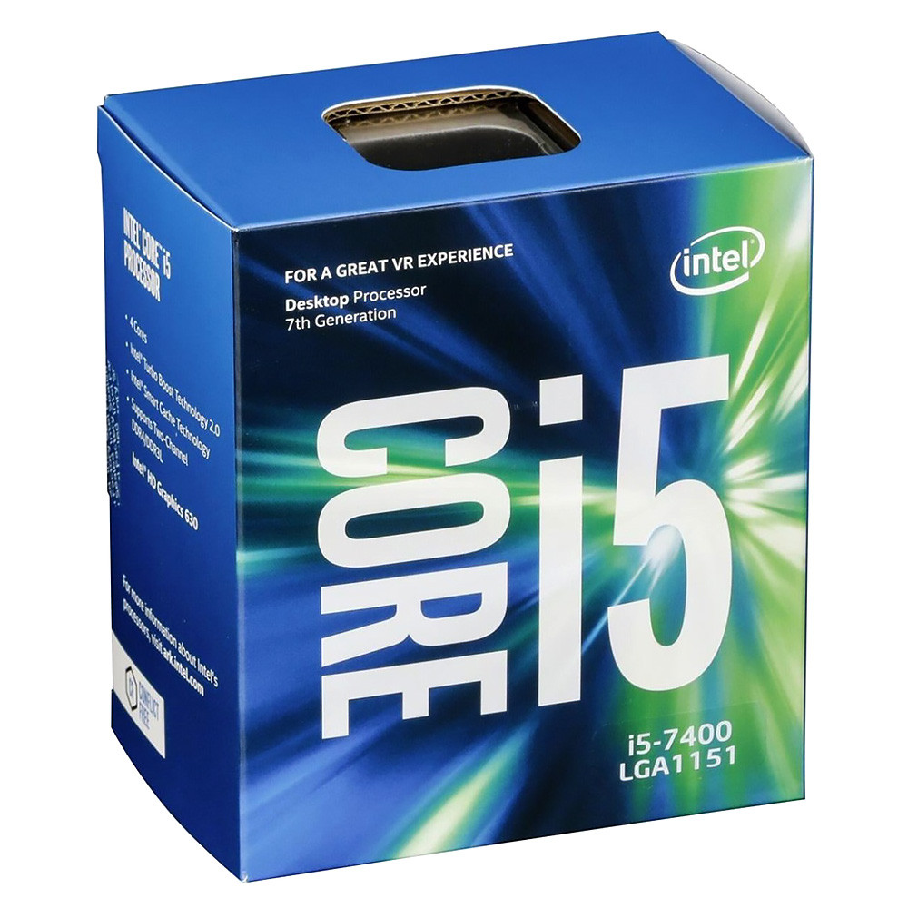 Intel Core i5 7400 – 3,5GHz, 6M, LGA1151